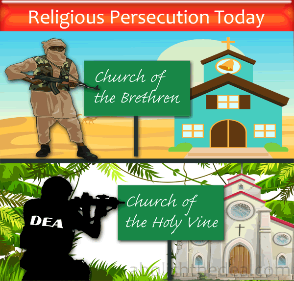 DEA fighting against religious freedom