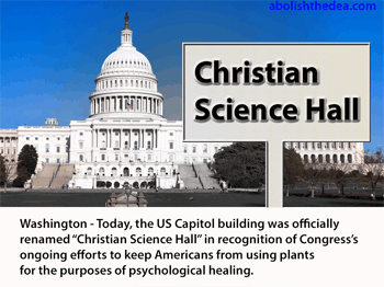 US Capitol building renamed Christian Science Hall