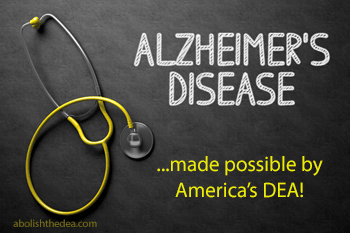 alzheimer's -- made possible by America's DEA and the drug war -- about which today's navel-obsessed philosophers have nothing to say