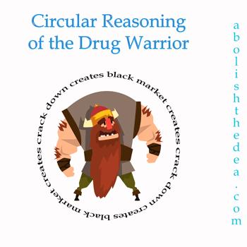 the circle of death: circular reasoning of the drug warrior