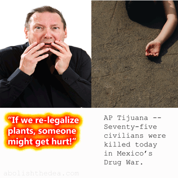 drug warriors fret about addiction of whites while causing violence around the world to non-whites and placing godsend psychoactive plant medicines out of reach to the suffering