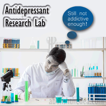 Big Pharma thrives by selling addictive antidepressnts that treat human beings as machine a la the materialist paradigm, when outlawed drugs could run rings around antidepressants, therapeutically speaking