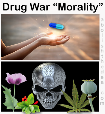 Drug War morality ignores the real drug epidemic: 1 in 4 American females addicted to Big Pharma meds