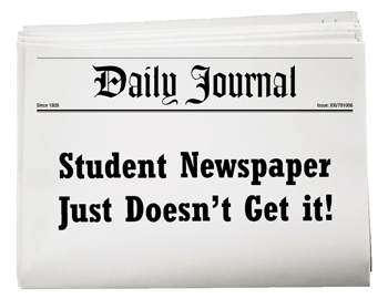 Student Newspaper just doesn't get it about drugs. Karolina Zieba's article inspired by Drug War lies and propaganda.