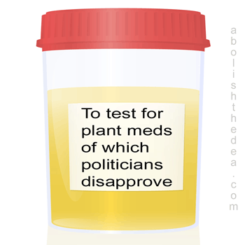 portest drug testing: the unconstitutional search for plant medicines of which politicians disapprove