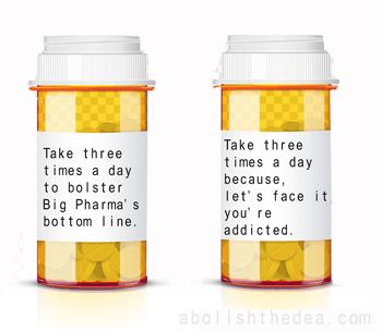 Take 3 times a day to bolster Big Pharma