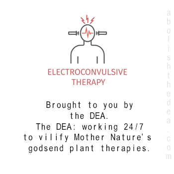Electroshock therapy: brought to you by the DEA and America's Drug War