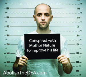 The DEA: Proudly arresting Americans for improving their lives with the help of Mother Nature.